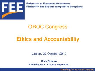 OROC Congress Ethics and Accountability
