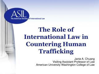 The Role of International Law in Countering Human Trafficking