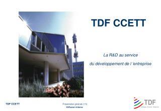 TDF CCETT
