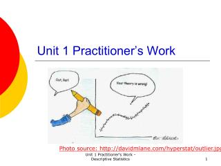 Unit 1 Practitioner's Work