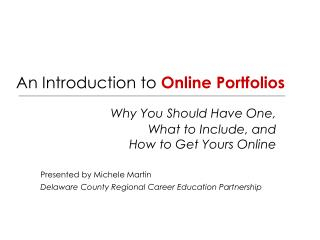 An Introduction to  Online Portfolios