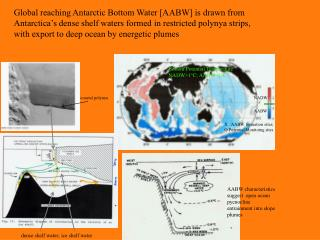 X   AABW formation sites; O Potential Monitoing sites