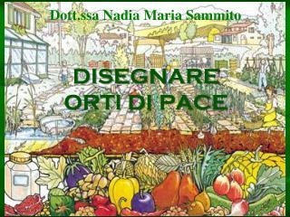 Dott.ssa Nadia Maria Sammito