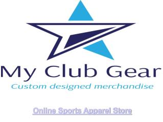 online sports apparel store