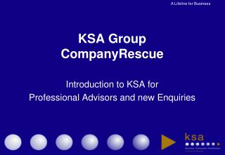 KSA Group CompanyRescue