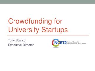 Crowdfunding for University Startups