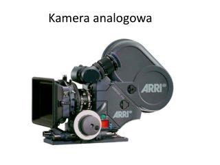 Kamera analogowa