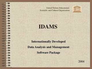IDAMS