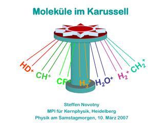 Steffen Novotny  MPI für Kernphysik, Heidelberg Physik am Samstagmorgen, 10. März 2007