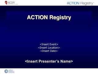 <Insert Presenter�s Name>