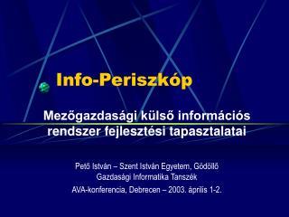 Info-Periszkóp