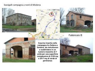 Sozzigalli campagna a nord di Modena