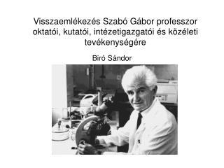 Biró Sándor