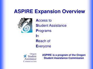 ASPIRE Expansion Overview