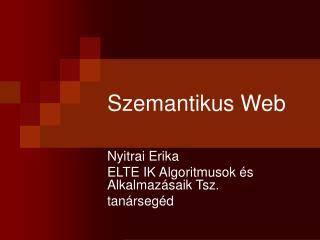 Szemantikus Web