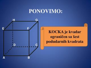 PONOVIMO: