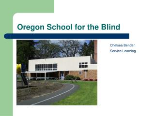 Oregon School for the Blind