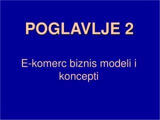 POGLAVLJE  2