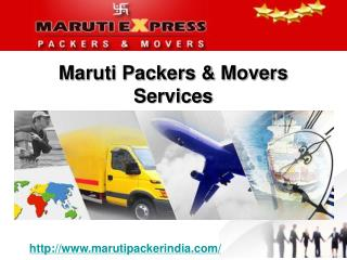 Maruti packers and movers services