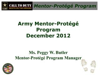 Mentor-Prot�g� Program