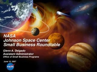 NASA Johnson Space Center Small Business Roundtable