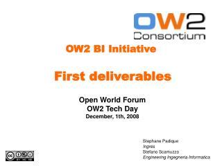 OW2 BI Initiative