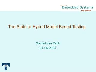 The State of Hybrid Model-Based Testing