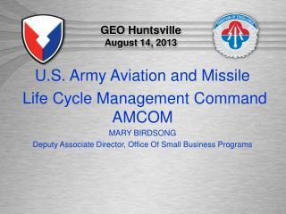 GEO Huntsville  August 14, 2013