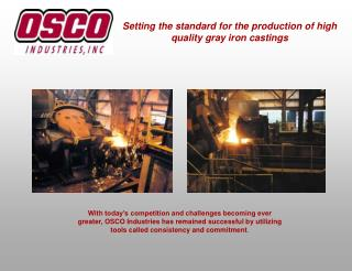 Setting the standard for the production of high quality gray iron castings