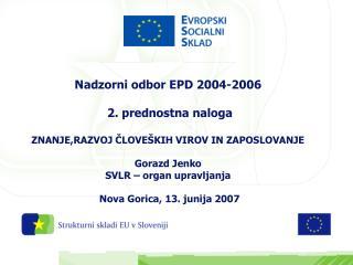 2. Prednostna naloga: Znanje, vseživljenjsko učenje in zaposlovanje -  UKREPI