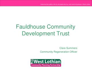 Fauldhouse Community Development Trust