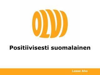 Positiivisesti suomalainen
