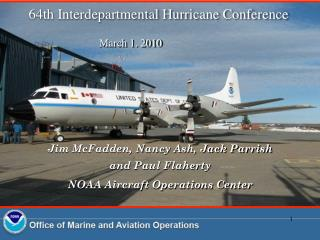 64th Interdepartmental Hurricane Conference