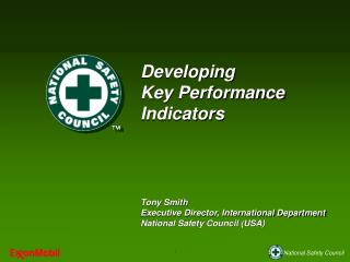 Developing  Key Performance Indicators