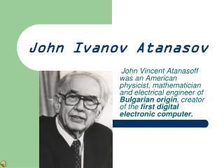 John Ivanov Atanasov