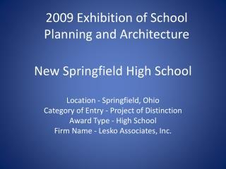 New Springfield High School