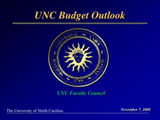 UNC Budget Outlook