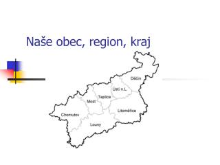 Naše obec, region, kraj