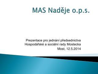 MAS Naděje o.p.s.
