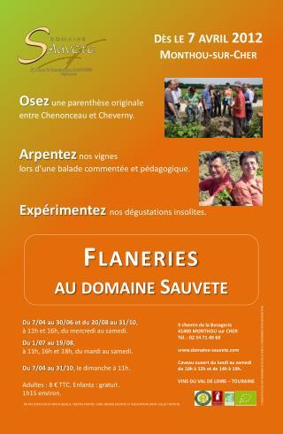 Flaneries au domaine  Sauvete