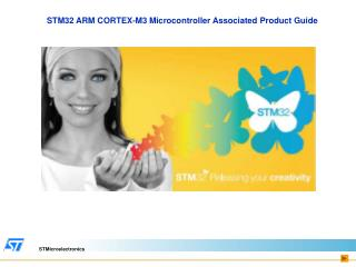STM32 ARM CORTEX-M3 Microcontroller Associated Product Guide