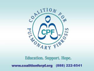 coalitionforpf    (888) 222-8541