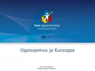 Oppisopimus ja Eurooppa