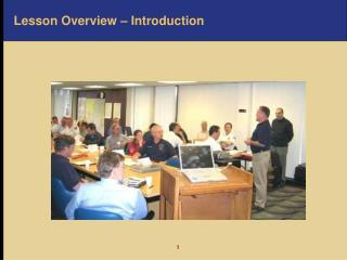 Lesson Overview � Introduction