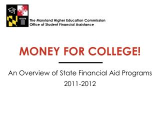 MONEY FOR COLLEGE!
