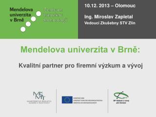 Mendelova univerzita v Brně: