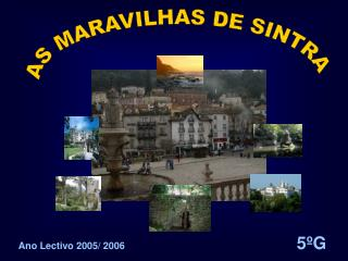 Ano Lectivo 2005/ 2006 5ºG