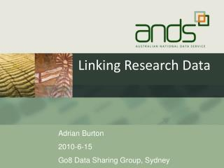 Linking Research Data