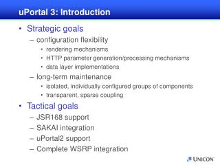 uPortal 3: Introduction