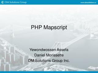 PHP Mapscript